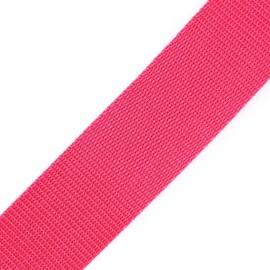 Polypropylene strap - raspberry
