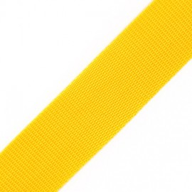 Polypropylene strap - yellow