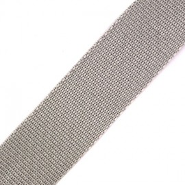 Polypropylene strap - pearly grey