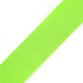 Polypropylene strap - lime