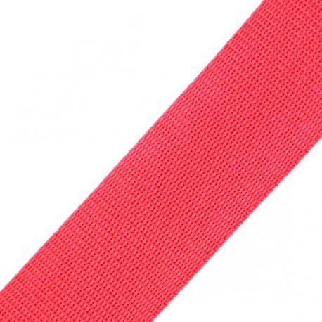 Sangle Polypropylène rouge
