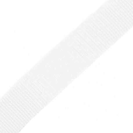 Sangle Polypropylène blanc