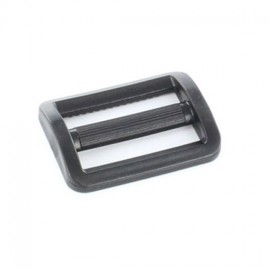 Plastic triglide slide adjuster - black transparent