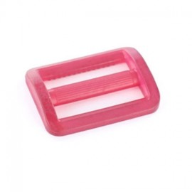 Plastic triglide slide adjuster - cherry transparent