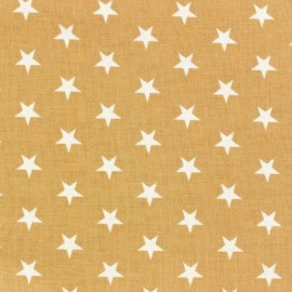 Stars Fabric - White / String x 10cm