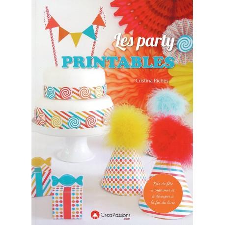 """Livre """"Les party printables"""""""