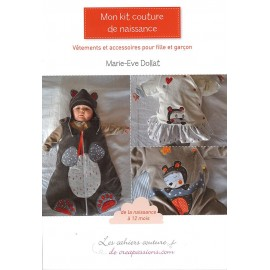 """Livre """"Mon kit couture de naissance"""""""