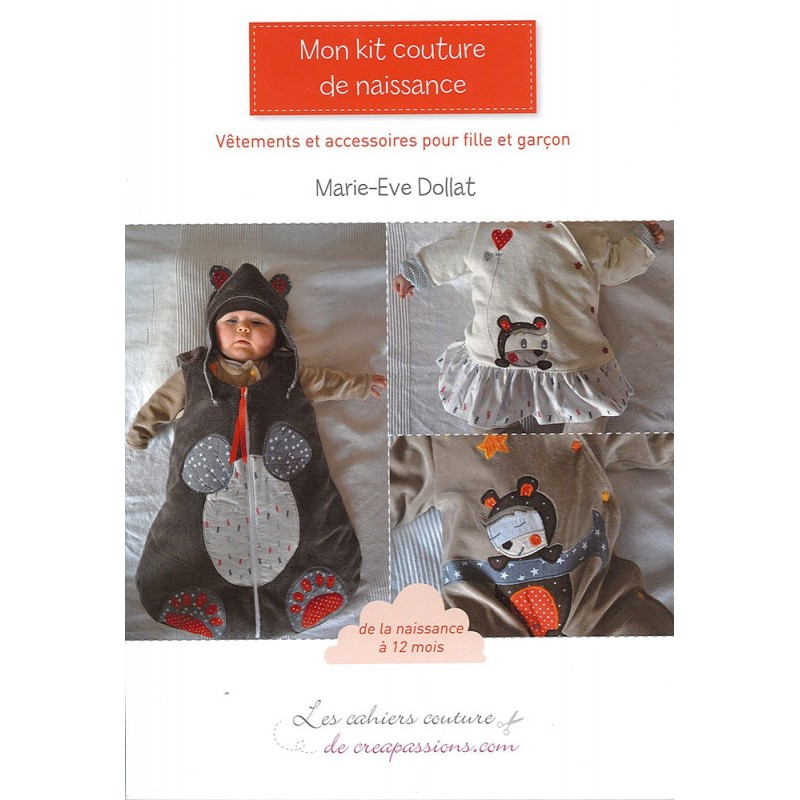 Livre mon kit couture de naissance ma petite mercerie for A couture mon