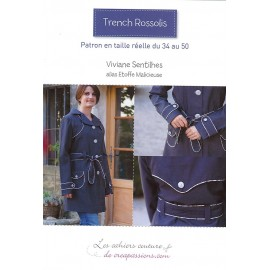 "SEWING PATTERN ""TRENCH ROSSOLIS"" BOOK - MULTICOLORED"
