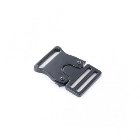 Metal belt clasp Bianca - black