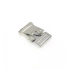 Metal belt clasp Bianca - nickel-plated