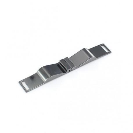 Fermoir ceinture métal Cléa nickelé