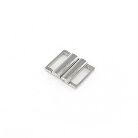 Fermoir ceinture métal Bela argent