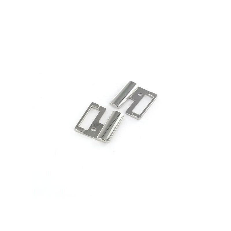 Fermoir ceinture métal Bela argent  Fermoir ceinture métal Bela argent 6a87ec1c9e3