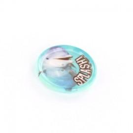 Polyester button Sbottonati Sweet Splash - sky blue