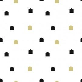 Batiste La K-ute fabric - white x 10cm