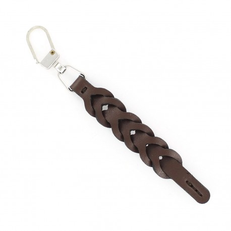 Zipper pull Naty - dark brown