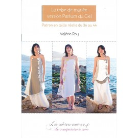 """Patron """"La robe de mariée version Parfum du Ciel"""""""