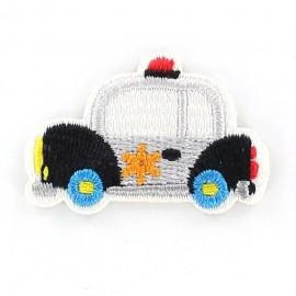 Car iron-on applique - multicolored