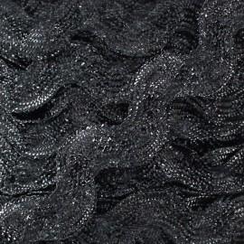 Serpentine lurex argent