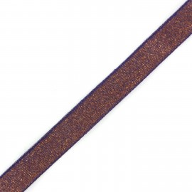 Lurex Glitter Ribbon - Purple