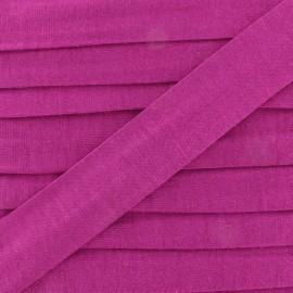 Bias binding, Jersey - dark purple