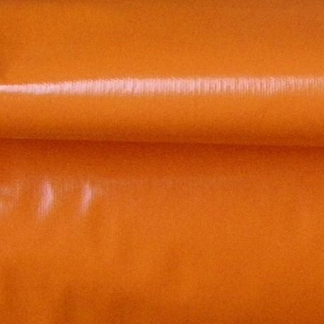 Vinyl Fabric - Orange x 10cm