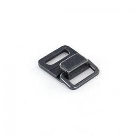 Fermoir agrafe métal carré cuivre