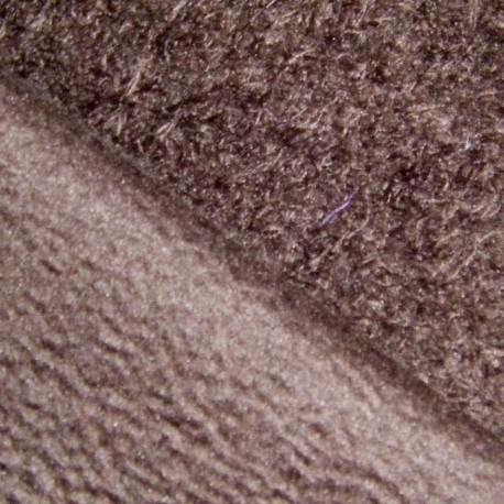 Flannelette fabric - brown x 10cm