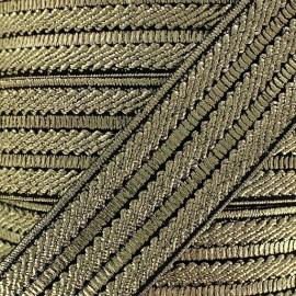 Elastique lurex doré x 50cm