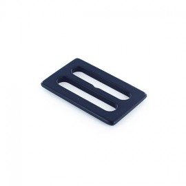 Plastic tri-glide buckle - navy blue opaque