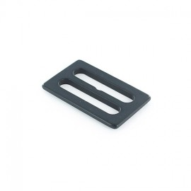 Plastic tri-glide buckle - anthracite grey opaque