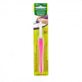 Amour crochet hook 8 mm - pink