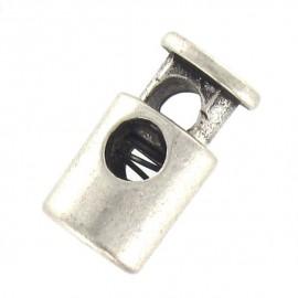 Serre cordon métal Calvy Nickelé
