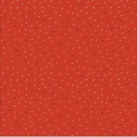 Sparkle Tangerine fabric x 10cm