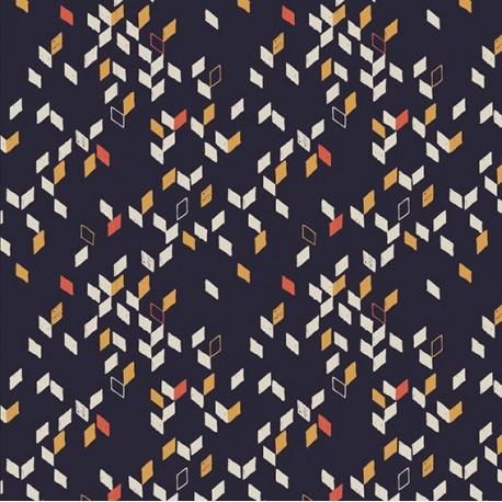Fabric Twist Dark blue x 10cm