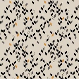 Fabric Twist Mustard x 10cm
