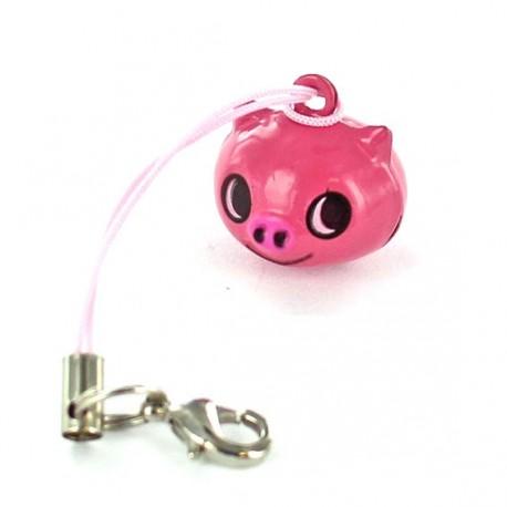 Fun Little bell, Pig - pink
