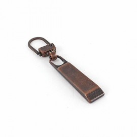 Zipper pull Tilly - copper