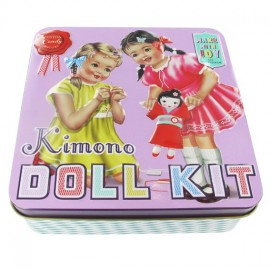 Candy Kimono doll kit - multicolored