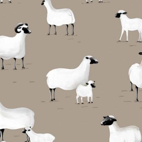 tissus pas cher 100 coton tissu toile de coton enduit. Black Bedroom Furniture Sets. Home Design Ideas