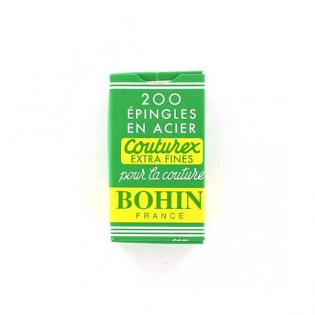Épingles couturex extra fines BOHIN boite de 200