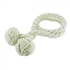 Embrasse flexible corde crème