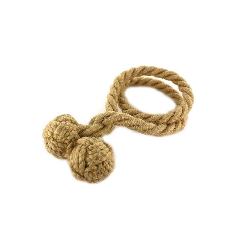 accessoire rideaux embrasse rideau flexible corde jute mpm. Black Bedroom Furniture Sets. Home Design Ideas