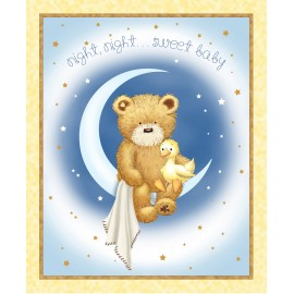Tissu Night ... Sweet Baby x 90cm