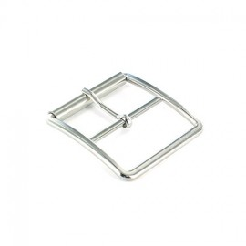 Metal belt buckle Tino - nickel-plated