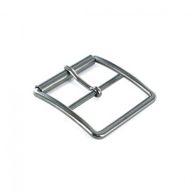 Metal belt buckle Tino - silver