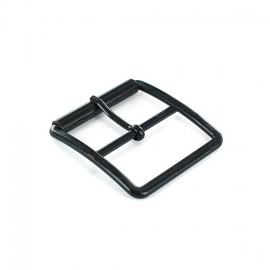 Metal belt buckle Tino - black