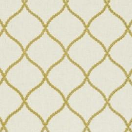 ♥ Coupon 200 cm X 140 cm ♥ Fabric Ribble Valley Sawley Citrus