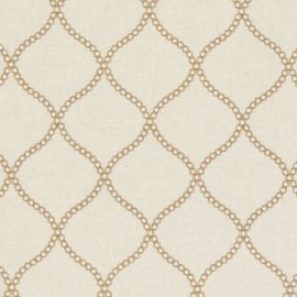 ♥ Coupon 150 cm X 140 cm ♥  Fabric Ribble Valley Sawley Sand
